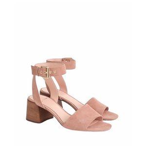 J. Crew Penny Ankle Strap Block Heel Sandals 5.5
